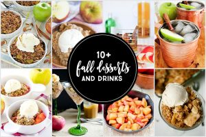 Fall Desserts & Drinks | Linky Party!