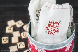 Holiday Memory Matching Game for Kids