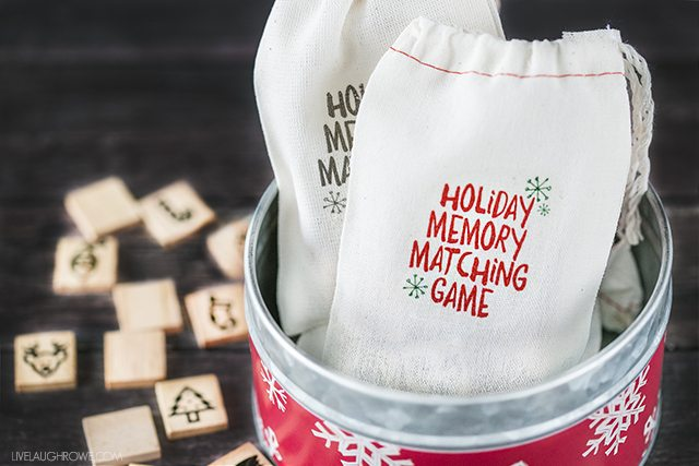 Holiday Memory Matching Game for Kids - Live Laugh Rowe