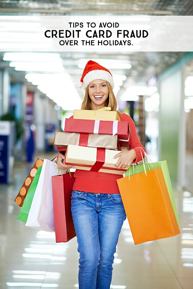 Great tips on how to avoid holiday credit card fraud! livelaughrowe.com