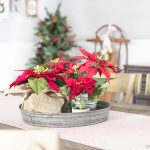 Vintage Inspired Christmas Dining Room Decor