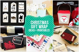 Fabulous Christmas Gift Wrap Ideas and Printables. livelaughrowe.com