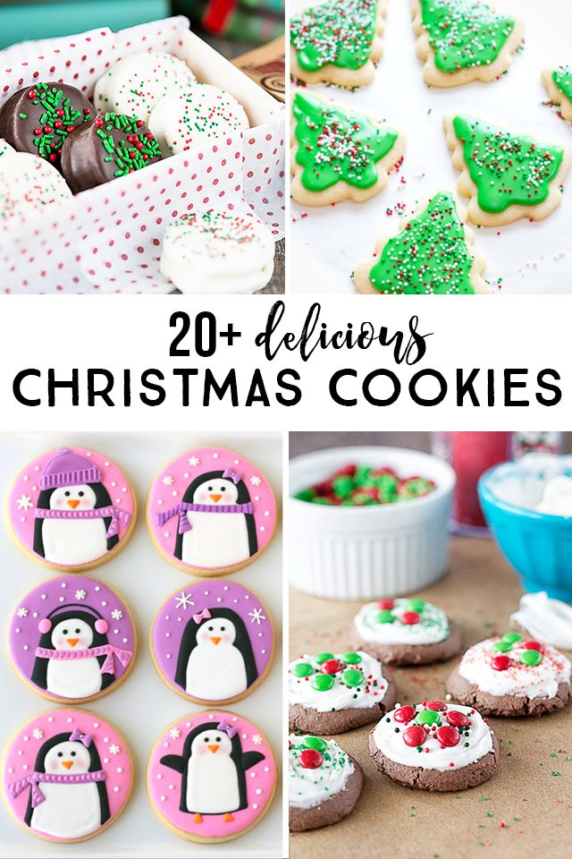 20+ Delicious Christmas Cookies to inspire your holiday baking. The only question is what will you be baking this year? livelaughrowe.com