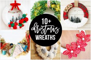 10+ Christmas Wreaths | Party Time!