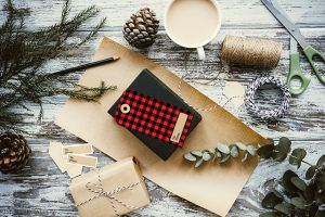Printable Buffalo Check Gift Tags -- great for the holidays or winter gift giving! livelaughrowe.com