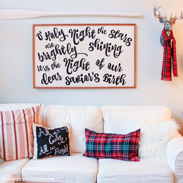 how-to-make-your-own-diy-song-lyrics-sign-at-thehappyhousie-com