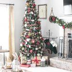 Warm and Cozy Christmas Living Room