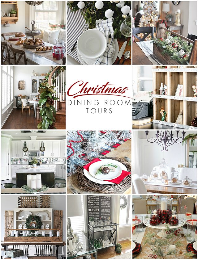Beautiful Christmas Dining Room Tours to inspire your holiday decor!