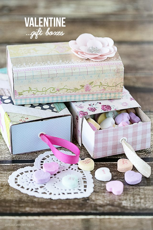 Valentine Boxes Using Matchboxes Live Laugh Rowe