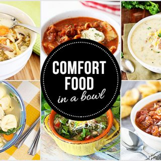 10+ Comfort Food in a Bowl -- recipes that are perfect for the cold, winter months. livelaughrowe.com
