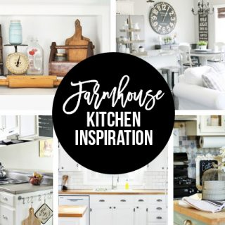 Love the Farmhouse Kitchen? Here are over NINETEEN posts packed with inspiration. livelaughrowe.com