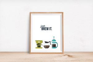 20+ Coffee Puns | Just Brew It Printable