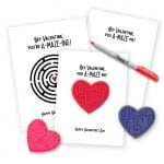 Maze Printable Valentines Two Ways