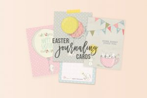 Easter Journaling Cards | Free Printables