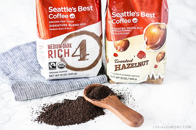 Seattle's Best Coffee used to make the best Homemade Iced Coffee. livelaughrowe.com