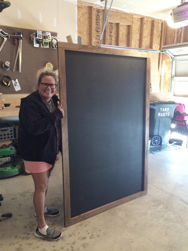 Awesome Oversized Chalkboard!