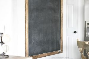 NEW Oversized Chalkboard in my Kitchen