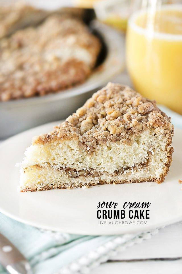 Amazing Sour Cream Crumb Cake