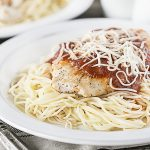 Simple Mozzarella Turkey Cutlets