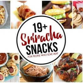 These Sriracha Snacks are for those of you who love a little heat! Bring it... livelaughrowe.com
