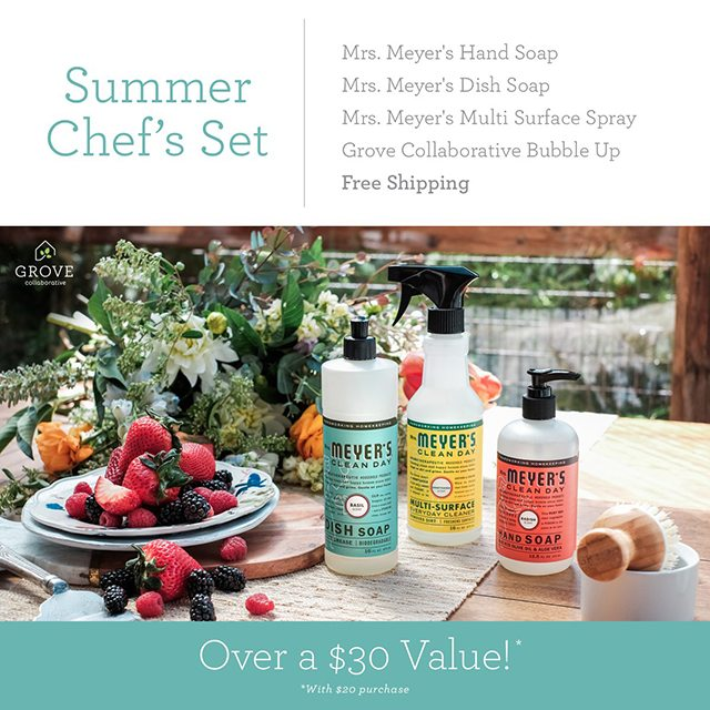 Free Mrs. Meyer's products (and more), valued at over $30 for first time customers! What are you waiting for? livelaughrowe.com