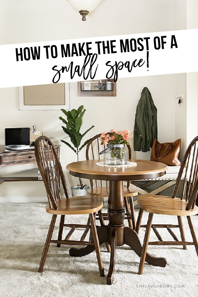 How To Make The Most Of A Small Space Apartment Living