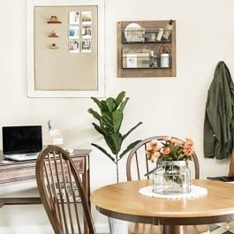 How to Make the Most of a Small Space. Great tips and ideas! livelaughrowe.com