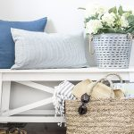 Simple Summer Entryway Decor