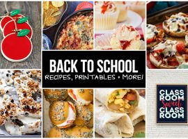 Back to School Recipes, Printables, Crafts and more! livelaughrowe.com