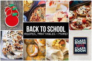 Back to School Recipes and More!