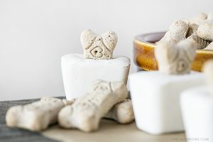 Frozen Dog Treats using only 3 Ingredients