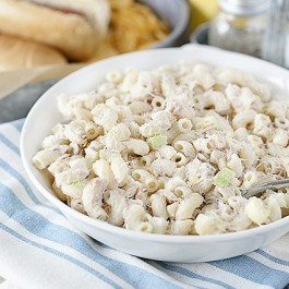 A very simple and basic Tuna Macaroni Salad that never seems to disappoint! After enjoying this dish for over 30+ years, I decided it was time to share it with you. livelaughrowe.com