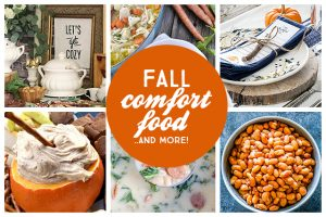 Comfort Food Recipes and More for Fall!