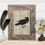Halloween Crow Decor| Free Printable