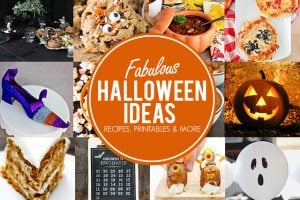 Fabulous Halloween Ideas from delicious recipes to free printables and craft ideas! Find more at livelaughrowe.com