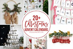 20+ FABULOUS and creative DIY Christmas Advent Calendars to inspire you! livelaughrowe.com