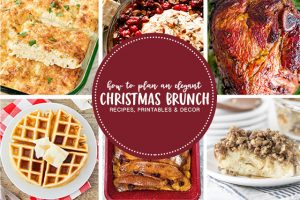 Christmas Brunch Ideas | Meal Plan and Entertaining