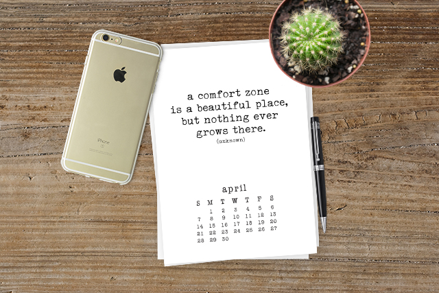 Free Printable Calendar With Inspirational Quotes That Are Sure To