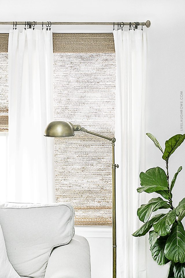 Beautiful Neutral Window Treatments With Farmhouse Flare From Levolor Natural Shades To Linen Curtains