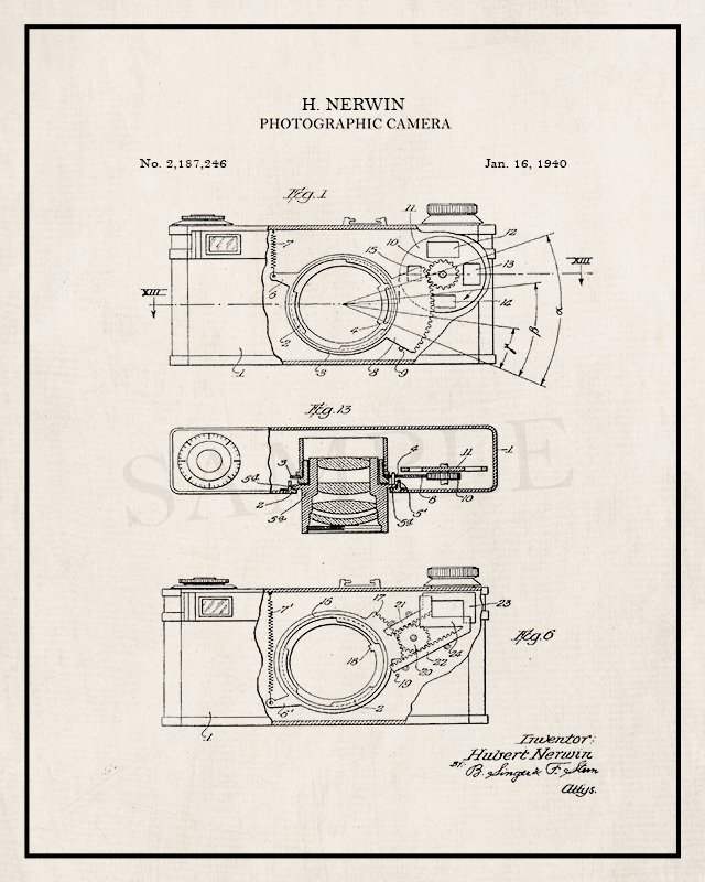 Four vintage patent prints for the taking!! Patent art is trending right now and these are for all the photography lovers. Sized at 16x20, the possibilities are endless. livelaughrowe.com