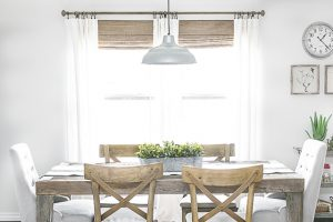 Neutral Window Treatments | Farmhouse Style