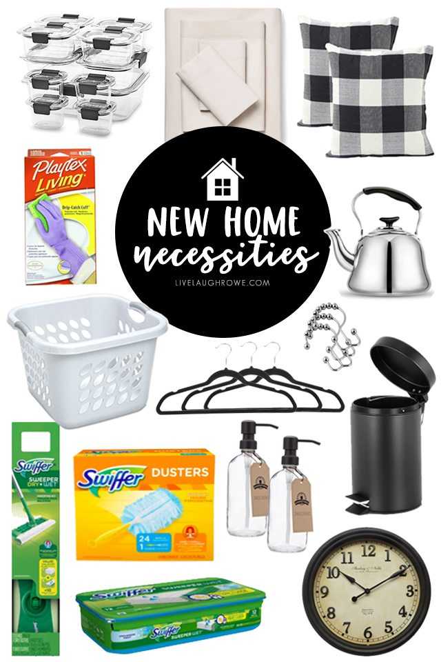 e2d33630c A great resource for those moving into a new home or apartment! This New  Home Printable New Home Necessities Checklist