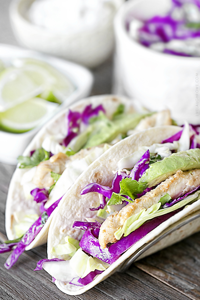 Whether you call them Skillet Chicken Tacos, Ranch Chicken Tacos or Chicken Tender Tacos -- this recipe will not disappoint! Paired with a tangy slaw and avocado, these tacos are packed with flavor. And did I mention easy? livelaughrowe.com
