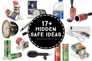 17+ Hidden Safe Ideas and Secret Hiding Places