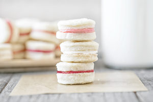Cream Wafer Cookie Recipe | Valentine's Day Dessert