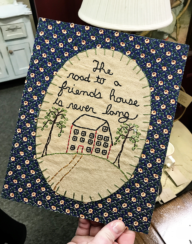 "Love this beautiful quotation on friendship, ""The road to a friend house is never long."""