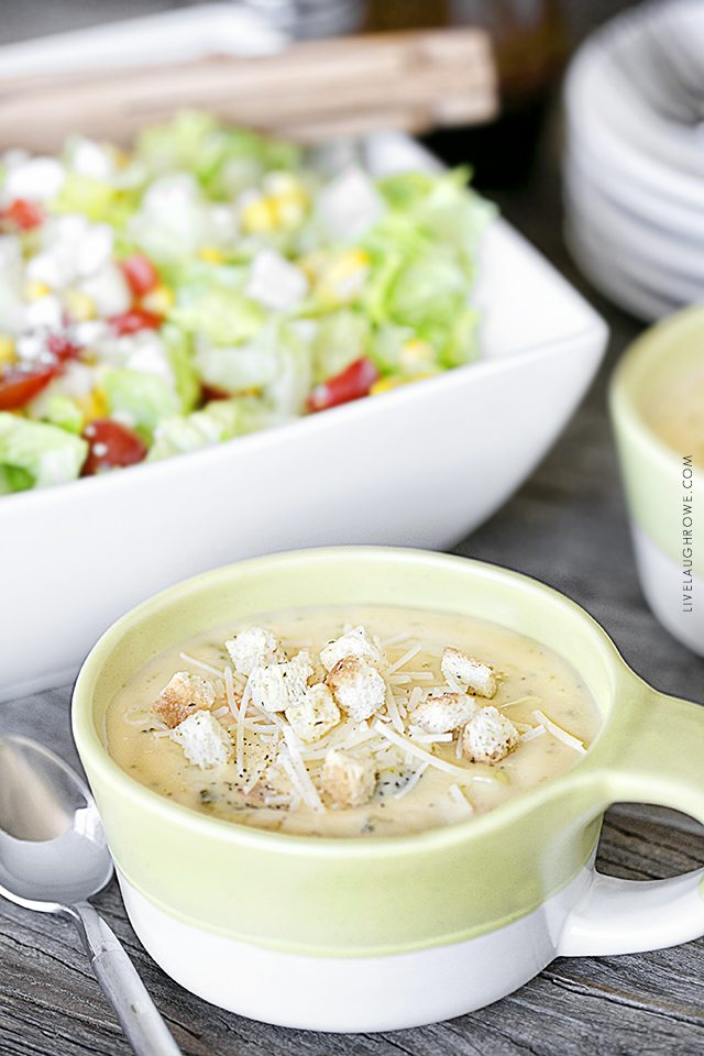 Chopped Salad Recipe - Soup and Salad Pairing - Live Laugh Rowe