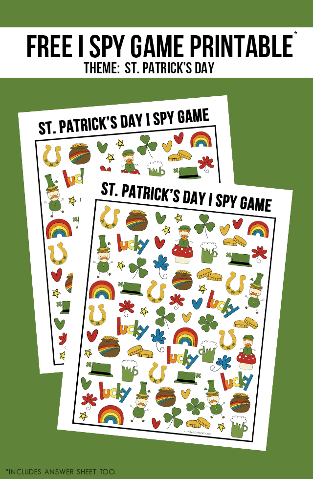 St Patrick S Day Activity For Kids I Spy Game Printable Live Laugh Rowe Where do your parents live? live laugh rowe