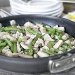 Chicken Piccata Stir-Fry.  Weight Watchers Recipe.