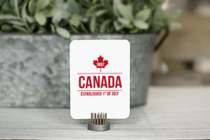 Happy Canada Day! Add these printable journal cards to your Canada Day festivities. Three great designs to choose from -- they're great for place cards, favors, bookmarks and more! Check them out at livelaughrowe.com